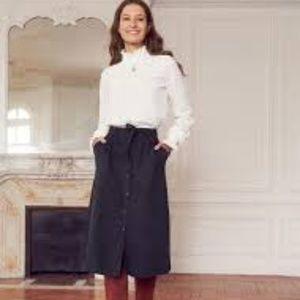 NWT Sezane Celina Skirt